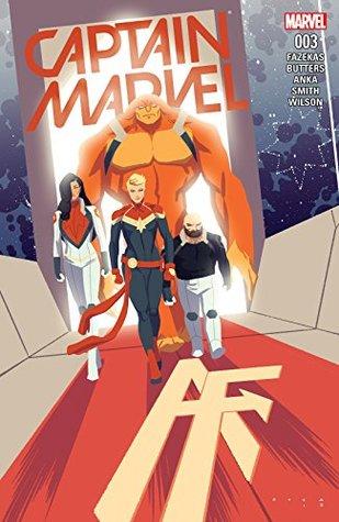 Captain Marvel #3 by Michele Fazekas, Kris Anka, Tara Butters
