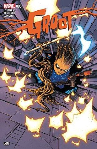 Groot #5 by Brian Kesinger, Jeff Loveness, Declan Shalvey