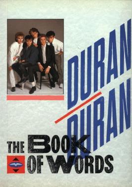 The Book of Words - Duran Duran by Garrett de Graaf, Simon Le Bon