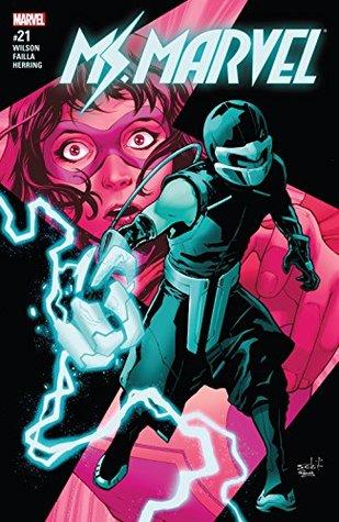 Ms. Marvel (2015-2019) #21 by G. Willow Wilson, Marco Failla, Valerio Schiti