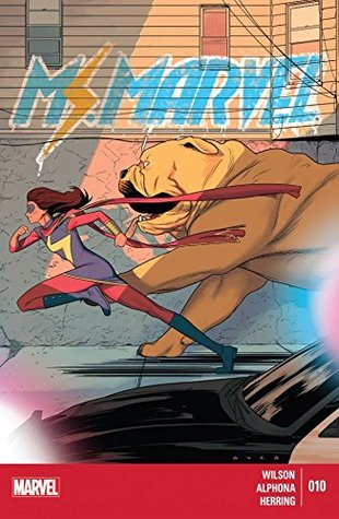 Ms. Marvel (2014-2015) #10 by Adrian Alphona, G. Willow Wilson, Kris Anka