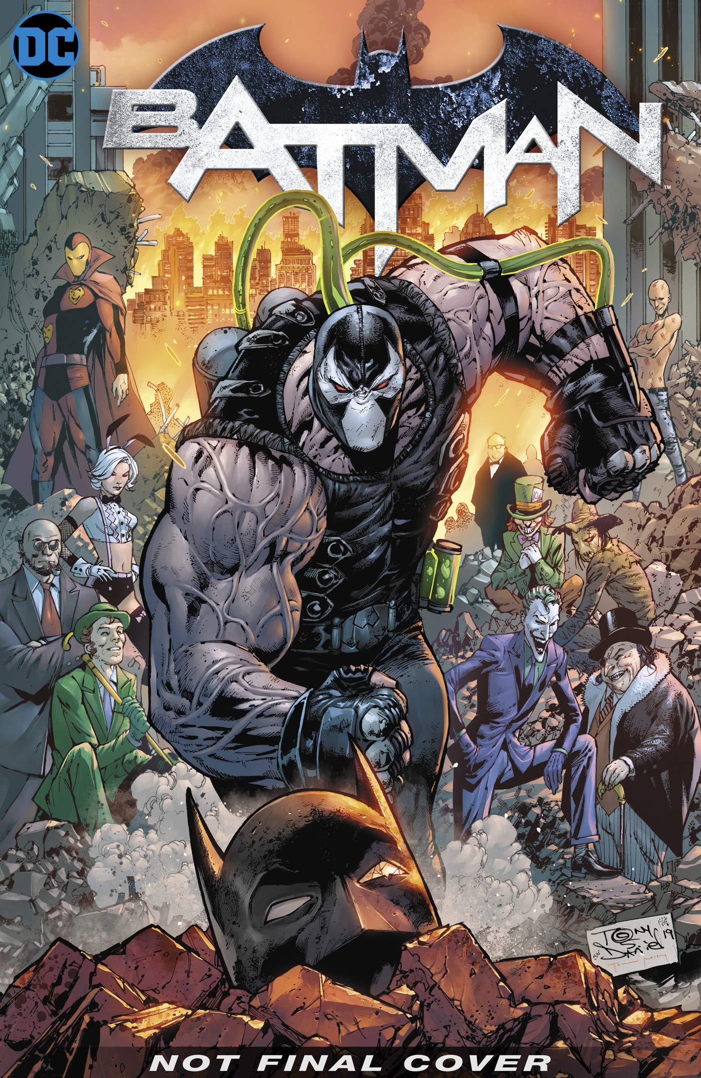 Batman, Volume 12: City of Bane Part 1 by Sandu Florea, Mitch Gerads, Tom King, Clay Mann, Tony S. Daniel, Mikel Janín