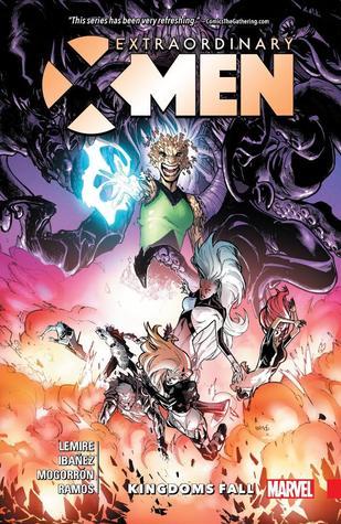 Extraordinary X-Men, Volume 3: Kingdoms Fall by Víctor Ibáñez, Jeff Lemire