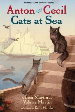 Cats at Sea by Lisa Martin, Valerie Martin, Kelly Murphy