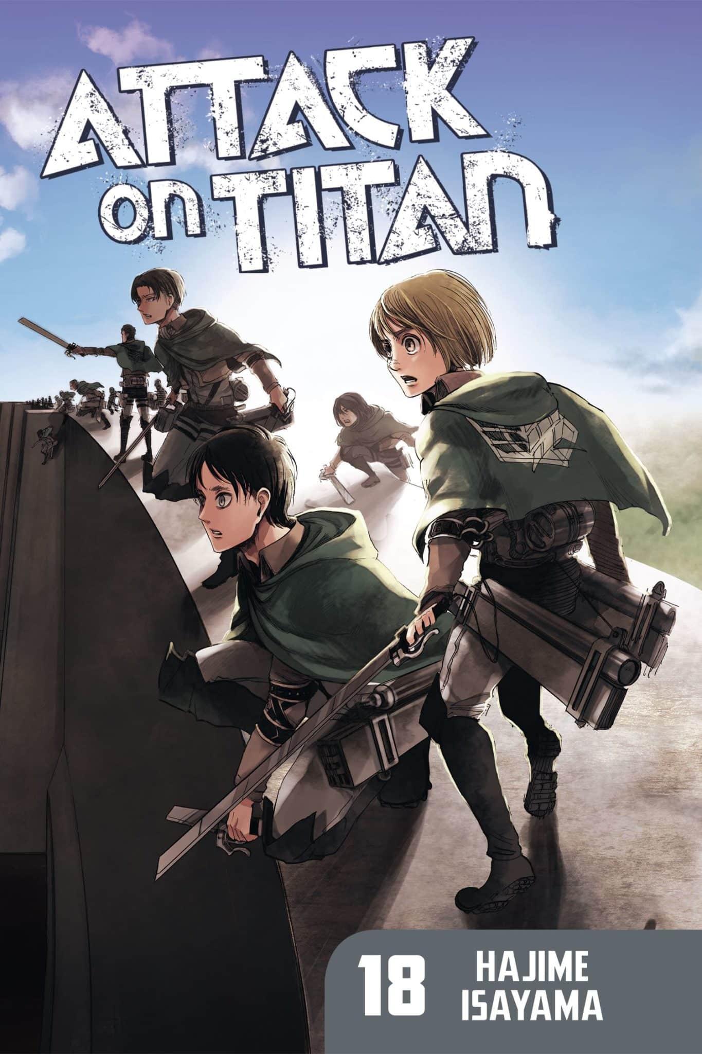 Attack on Titan, Volume 18 by Hajime Isayama