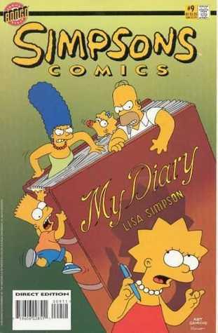 Simpsons Comics, #9 by Stephanie Gladden, Andrew Gottlieb, Matt Groening, Tim Bavington, Bill Morrison, Luis Escobar