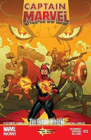 Captain Marvel (2012-2013) #13 by Gerardo Sandoval, Andy Troy, Scott Hepburn, Kelly Sue DeConnick, Jordie Bellaire, Joe Quiñones