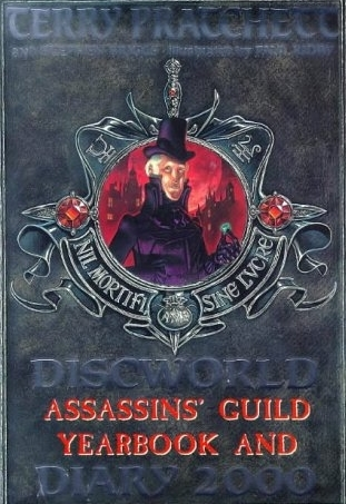 Discworld Assassins' Guild Yearbook and Diary 2000 by Stephen Briggs, Terry Pratchett, Paul Kidby