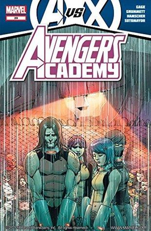 Avengers Academy #29 by Bill Rosemann, Chris Sotomayor, Christos Gage, Cory Hamscher, Joe Caramagna, Tom Grummett