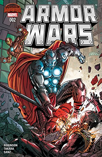 Armor Wars #2 by James Robinson