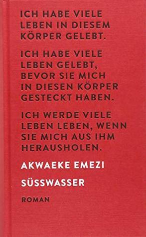 Süßwasser by Akwaeke Emezi