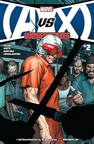 AVX: Consequences #2 by Steve Kurth, Mark Brooks, Kieron Gillen, Allen Martinez