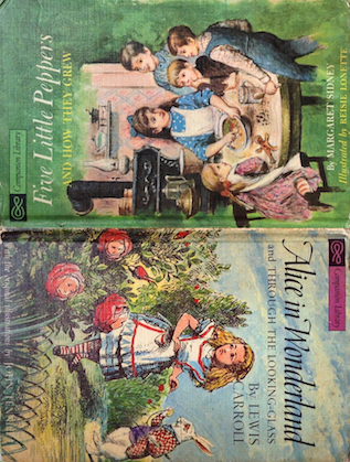 Five Little Peppers / Alice in Wonderland (Companion Library) by John Tenniel, Lewis Carroll, Margaret Sidney, Reisie Lonette