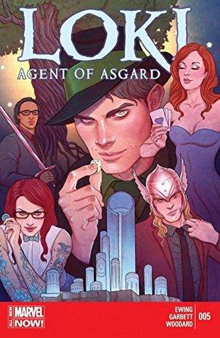 Loki: Agent of Asgard #5 by Jenny Frison, Al Ewing, Lee Garbett