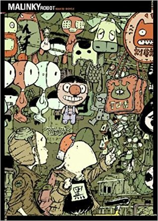 Malinky Robot: Bicycle by Sonny Liew