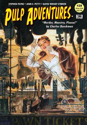 Pulp Adventures #28: Murder, Maestro, Please! by Charles Boeckman