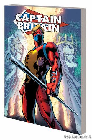 Captain Britain: Legacy of a Legend by Alan Moore, Alan Davis, John Byrne, Dave Thorpe, John Stokes, Steve Parkhouse, Herb Trimpe, Chris Claremont