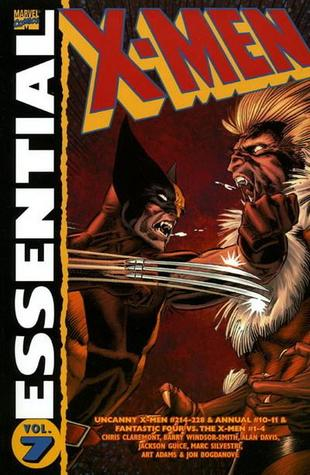 Essential X-Men, Vol. 7 by Barry Windsor-Smith, Jackson Butch Guice, Marc Silvestri, Alan Davis, Jon Bogdanove, Arthur Adams, Chris Claremont