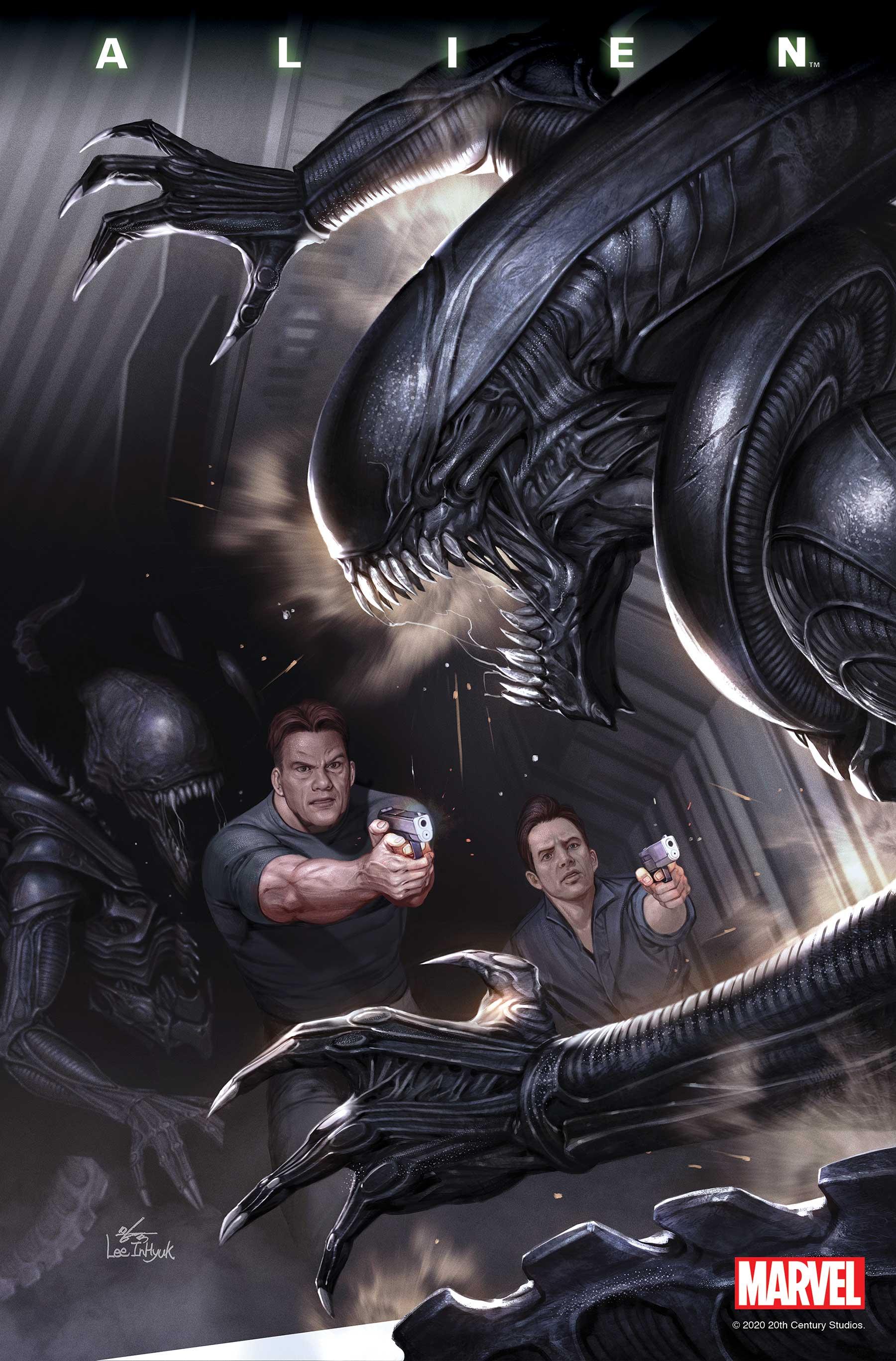 Alien #4 by Phillip Kennedy Johnson