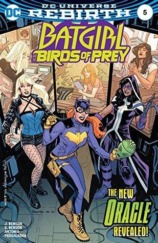 Batgirl and the Birds of Prey #5 by Allen Passalaqua, Shawna Benson, Julie Benson, Roge Antonio, Yanick Paquette, Nathan Fairbairn