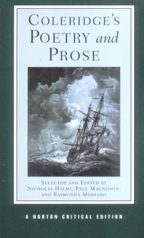 Coleridge's Poetry and Prose by Samuel Taylor Coleridge, Nicholas Halmi, Raimonda Modiano, Paul Magnuson
