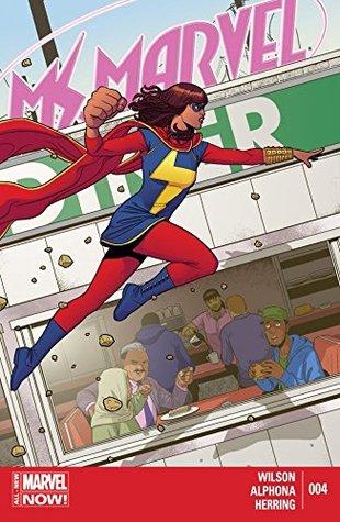 Ms. Marvel (2014-2015) #4 by Adrian Alphona, Jamie McKelvie, G. Willow Wilson