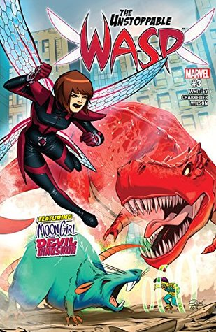 The Unstoppable Wasp #3 by Jeremy Whitley, Elsa Charretier