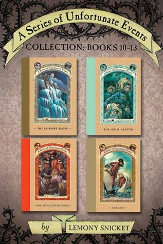 A Series of Unfortunate Events Collection, Books 10-13 by Lemony Snicket